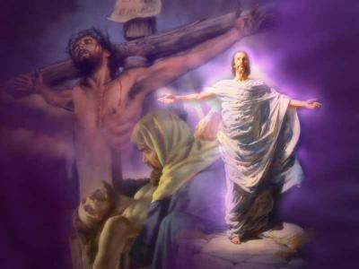 Przez Krzyż do Zmartwychwstania - życzenia